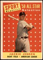 Sport Magazine '58 All Star Selection - Jackie Jensen [VGEX]