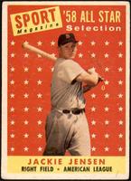 Sport Magazine '58 All Star Selection - Jackie Jensen [GOOD]