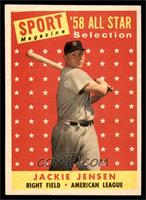 Sport Magazine '58 All Star Selection - Jackie Jensen [EX MT]