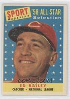 Sport Magazine '58 All Star Selection - Ed Bailey [Noted]