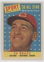 Sport Magazine '58 All Star Selection - Ed Bailey