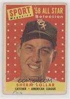 Sport Magazine '58 All Star Selection - Sherm Lollar [NonePoorto&nb…