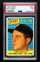 Sport Magazine '58 All Star Selection - Bob Friend [PSA7NM]