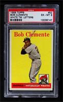 Roberto Clemente (White Team Name) [PSA 6 EX‑MT]