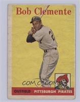 Roberto Clemente (White Team Name) [Fair]