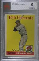 Roberto Clemente (White Team Name) [BVG 5 EXCELLENT]