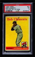 Roberto Clemente (Yellow Team Name) [PSA5EX]