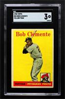 Roberto Clemente (Yellow Team Name) [SGC 40 VG 3]