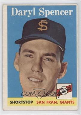 1958 Topps - [Base] #68 - Daryl Spencer