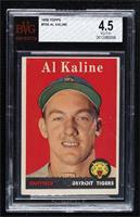 Al Kaline (player name in white) [BVG4.5VG‑EX+]