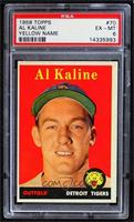 Al Kaline (player name in yellow) [PSA 6 EX‑MT]
