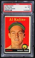 Al Kaline (player name in yellow) [PSA6EX‑MT]
