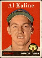 Al Kaline (player name in yellow) [VG]