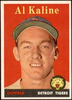 Al Kaline (player name in yellow) [EXMT]