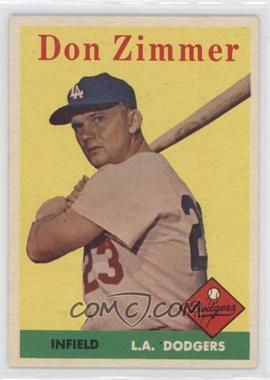 1958 Topps - [Base] #77 - Don Zimmer