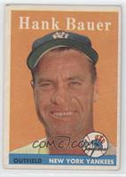 Hank Bauer [Noted]