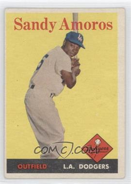 1958 Topps - [Base] #93 - Sandy Amoros