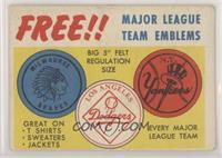 Major League Team Emblems