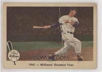 1941 - Williams' Greatest Year [Poor]