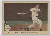 1941 - Williams' Greatest Year