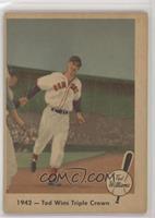 1942 - Ted Wins Triple Crown [GoodtoVG‑EX]