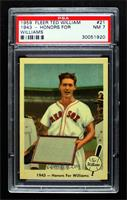 1943 - Honors For Williams [PSA7NM]