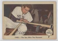 1948- The Sox Miss the Pennant [GoodtoVG‑EX]