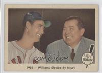 1951- Williams Slowed by Injury [Poor]