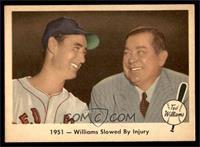 1951- Williams Slowed by Injury [EX]