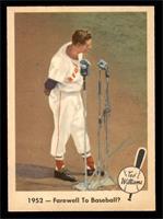 1952- Farewell to Baseball? [EXMT]