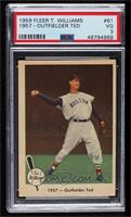 1957- Outfielder Ted [PSA3VG]