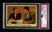 Jan. 23, 1959- Ted Signs for 1959 [PSA 5 EX]