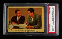 Jan. 23, 1959- Ted Signs for 1959 [PSA 4 VG‑EX]