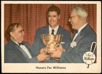 Honors for Williams [EX]