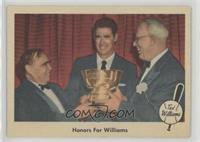 Honors for Williams