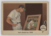 Ted's Goals For 1959 (Ted Williams) [GoodtoVG‑EX]