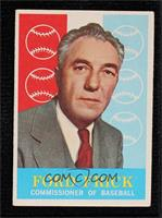 Ford Frick [Poor to Fair]