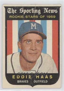 1959 Topps - [Base] #126 - Eddie Haas [Poor]