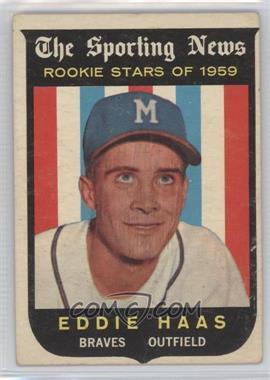 1959 Topps - [Base] #126 - Eddie Haas [PoortoFair]