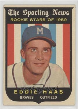 1959 Topps - [Base] #126 - Eddie Haas [GoodtoVG‑EX]