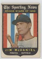 Jim McDaniel [Good to VG‑EX]