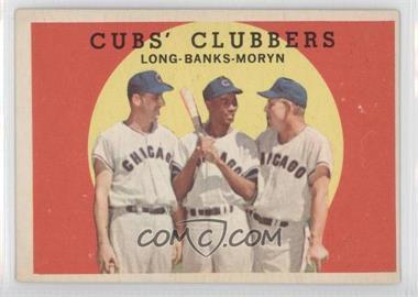 1959 Topps - [Base] #147 - Cubs' Clubbers (Dale Long, Ernie Banks, Walt Moryn)