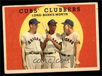 Cubs' Clubbers (Dale Long, Ernie Banks, Walt Moryn) [GOOD]
