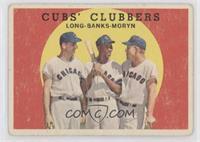 Cubs' Clubbers (Dale Long, Ernie Banks, Walt Moryn) [PoortoFair]