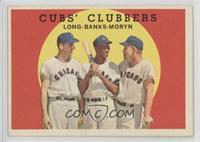 Cubs' Clubbers (Dale Long, Ernie Banks, Walt Moryn) [GoodtoVG‑…