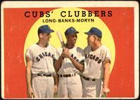 Cubs' Clubbers (Dale Long, Ernie Banks, Walt Moryn) [FAIR]