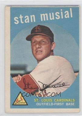 1959 Topps - [Base] #150 - Stan Musial [GoodtoVG‑EX]
