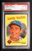 Sandy Koufax [PSA6]