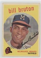Bill Bruton [GoodtoVG‑EX]
