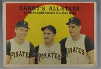 Danny's All-Stars (Frank Thomas, Danny Murtaugh, Ted Kluszewski) [Poor to&…